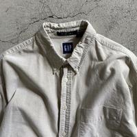 Old Gap the Big oxford BD  shirt. L size
