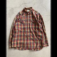 90's old Gap check  shirt