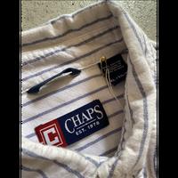 Chaps Stripe  shirt. XL