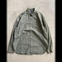 90's old Gap BD  shirt olive