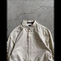 Old Gap check  shirt.L