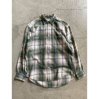 90's old  gap check  shirt. S size