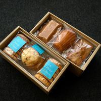 クッキーセット C:バニラ/塩マカダミア/ラム <プティ・ベイク付き>