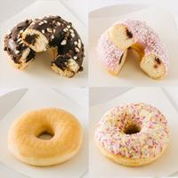 クリームドッツ4個セット(シュガー、スパークル、ダブルチョコクリーム、ピンキージャム)