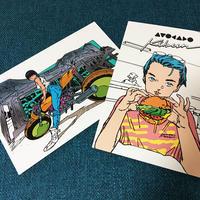ポストカードセット(AVOCADO Kibun&HIROKO)