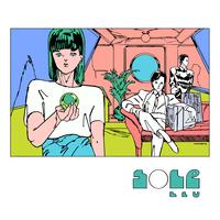 ポスター作品『Sole Blu』*額装つき