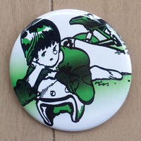 CAN BADGE_A GIRL WITH HELMET(ヘルメットガール缶バッジ)
