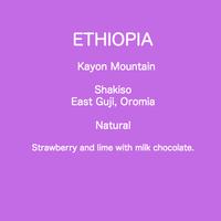 ETHIOPIA Kayon Mountain Natural  /  100g