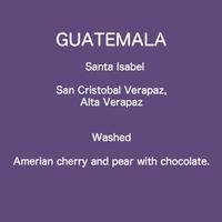 GUATEMALA Santa Isabel  / 100g