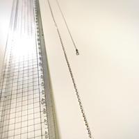 SV925製 ネックレスチェーン 40cm