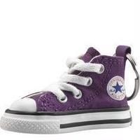 CONVERSE 【 コンバース】Chuck Taylor Sneaker Keychain Purple キーホルダー パープル