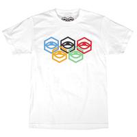 Jet Lag Brothers【ジェットラグブラザーズ 】Olypia Tee White Tシャツ ホワイト