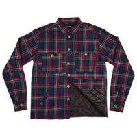 """PASS~PORT【 パスポート】""""LATE QUILTED FLANNEL"""" JACKET NAVY フランネル ジャケット"""