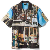 SPOT ITEM FTC【 エフティーシー】CABLE CAR RAYON SHIRT  レーヨン シャツ