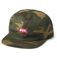 FTC【 エフティーシー】SMALL LOGO 6 PANEL CAP キャップ  帽子 カモ 迷彩