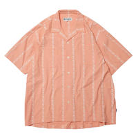EVISEN【 えびせん】LAST FIVE ALOHA  アロハ 半袖シャツ ピンク