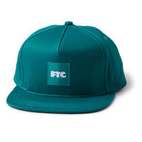 FTC【 エフティーシー】 OG BOX 5 PANEL CAP TEAL 帽子 キャップ