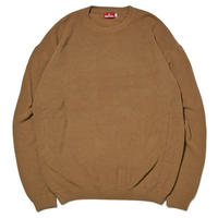 HELLRAZOR【 ヘルレイザー】UNDER GROUND FORCES  CREW KNIT SWEATER ニット セーター コヨーテ
