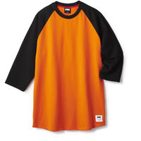 FTC【 エフティーシー】LOVE CHILD 7/S RAGLAN ORANGE NAVY ラグラン オレンジ ネイビー
