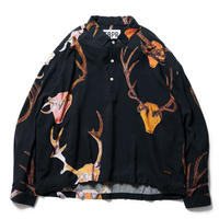 TIGHTBOOTH【 タイトブース】 × JIRO KONAMI DIM THE LIGHT SHIRT BLACK シャツ ブラック