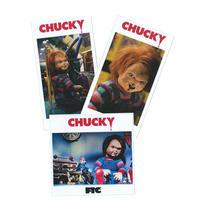 FTC【 エフティーシー】 x CHUCKY STICKER 3PACK ステッカーパック