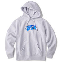 FTC【 エフティーシー】x BUTTER GOODS STACK LOGO PULLOVER HOODY ロゴ パーカー グレー