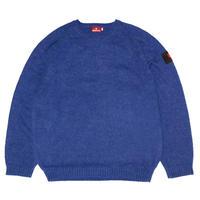 HELLRAZOR【 ヘルレイザー】MOHAIR SWEATER  セーター  ブルー