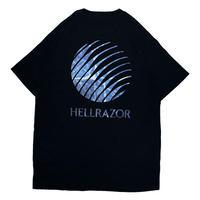 HELLRAZOR【 ヘルレイザー】INFERNO LOGO SHIRT NAVY  Tシャツ  ネイビー