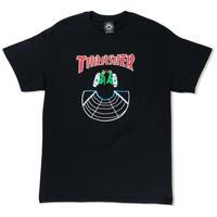 THRASHER【 スラッシャー】DOUBLES TEE BLACK Tシャツ ブラック