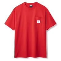 FTC【 エフティーシー】POCKET TEE RED ポケット Tシャツ レッド