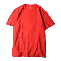 LUCKYWOOD【 ラッキーウッド】L logo color  TEE Tシャツ レッド