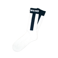 WKND【 ウィークエンド】  SOCKS ソックス 靴下 ホワイト