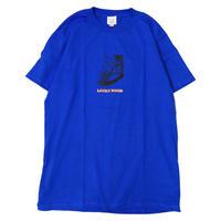 LUCKYWOOD【 ラッキーウッド】HOT DOG TEE Tシャツ ロイヤルブルー
