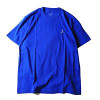 LUCKYWOOD【 ラッキーウッド】L logo color  TEE Tシャツ ロイヤル