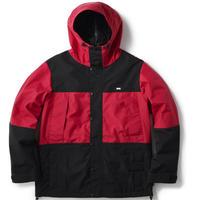 FTC【 エフティーシー】WATERPROOF 3L MOUNTAIN JACKET マウンテンジャケット レッド