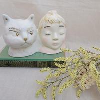 【桂さえか】僕とネコ花器