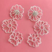 【lili by SERI】FLOWER DRAWING No.1・PIERCE /EARRING