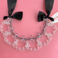 【lili by SERI】ZOO ribbon choker