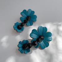 【lili by SERI】MY FLOWER PIERCE/BLUE