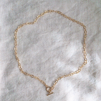 14kgf chain necklace