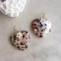 Leopard shell pierced