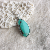 Turquoise  pendant top(A)