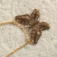 ブレスレット    蝶々