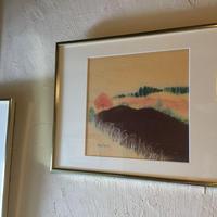 絵画 「土のある風景」  〜阿蘇の田舎の風景〜