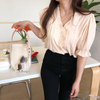 madeleine blouse / beige