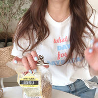 ice  cream Tshirt /  white