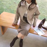 macaron JK coat  / oatmeal