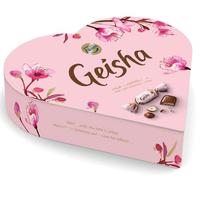 Fazer Geisha ファッツェル ゲイシャ ミルク チョコレート(ナッツ入り)ハート箱 225g× 8箱セット フィンランドのチョコレートです