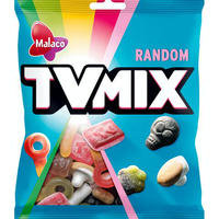 Malaco TV Mix テレビ ミックス ランダム お菓子セット 4袋×325g 北欧のお菓子です