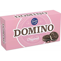 Fazer ドミノ オリジナル味 クッキー 350g 1箱セット フィンランドのクッキーです